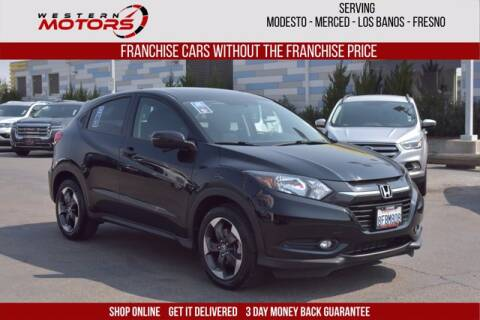 2018 Honda HR-V for sale at Choice Motors in Merced CA