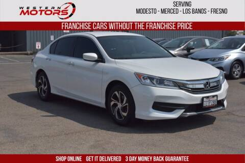 2017 Honda Accord for sale at Choice Motors in Merced CA
