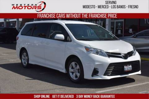 2020 Toyota Sienna for sale at Choice Motors in Merced CA