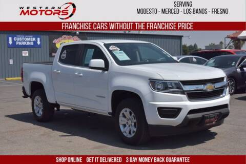 2020 Chevrolet Colorado for sale at Choice Motors in Merced CA