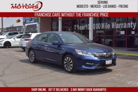 2017 Honda Accord Hybrid for sale at Choice Motors in Merced CA