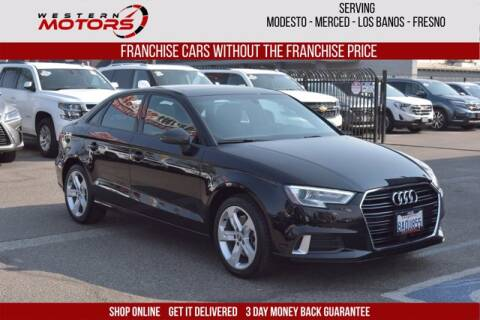 2018 Audi A3 for sale at Choice Motors in Merced CA