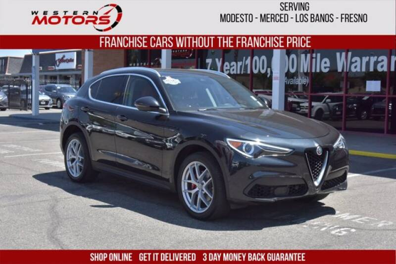 2018 Alfa Romeo Stelvio for sale at Choice Motors in Merced CA