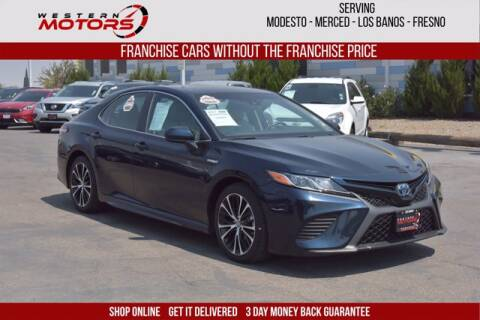 2018 Toyota Camry Hybrid for sale at Choice Motors in Merced CA