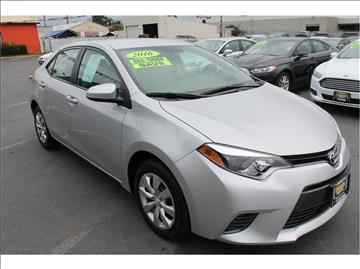 2016 Toyota Corolla for sale at Western Motors in Merced CA