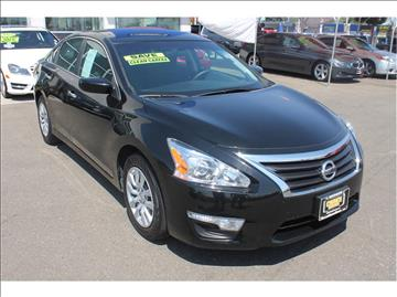 2015 Nissan Altima for sale at Western Motors in Merced CA
