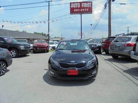 2014 Kia Optima for sale at Auto First in Mechanicsburg PA
