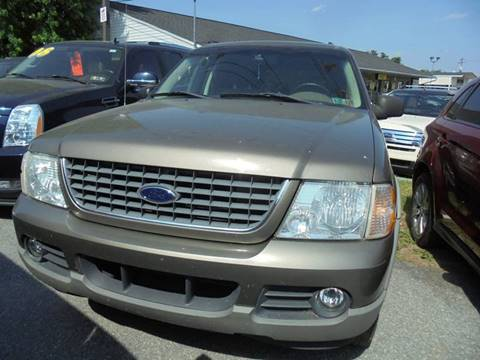 2002 Ford Explorer for sale at Auto First in Mechanicsburg PA