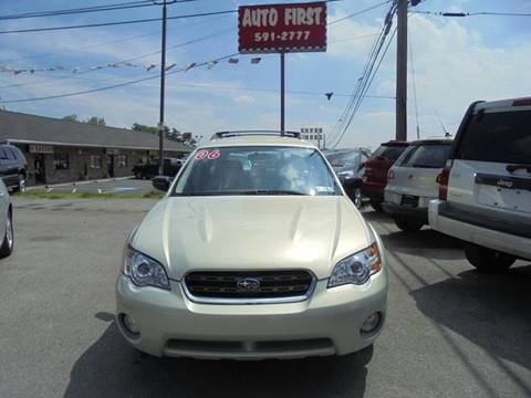 2006 Subaru Outback for sale at Auto First in Mechanicsburg PA