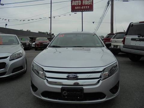 2011 Ford Fusion for sale at Auto First in Mechanicsburg PA