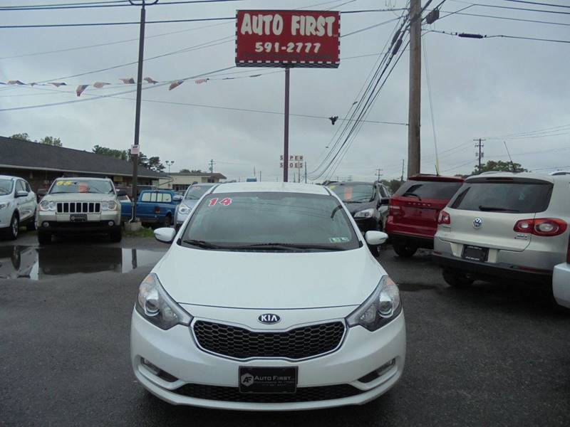 2014 Kia Forte for sale at Auto First in Mechanicsburg PA