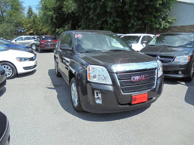 2014 GMC Terrain for sale at Auto First in Mechanicsburg PA