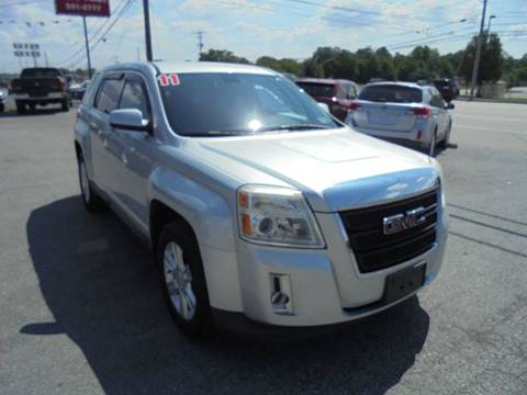 2011 GMC Terrain for sale at Auto First in Mechanicsburg PA
