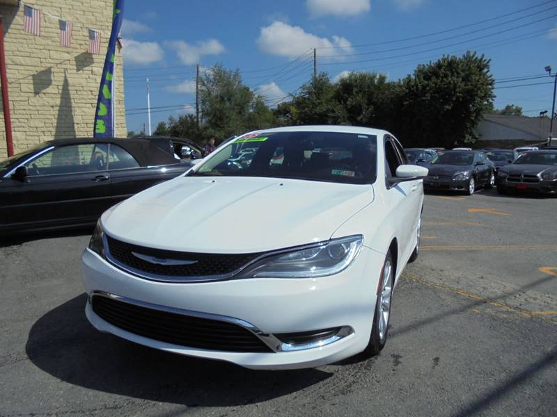 2015 Chrysler 200 for sale at Auto First in Mechanicsburg PA
