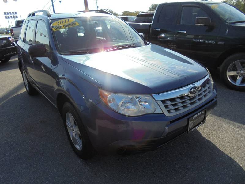 2011 Subaru Forester for sale at Auto First in Mechanicsburg PA