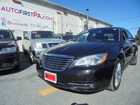 2011 Chrysler 200 for sale in Mechanicsburg, PA
