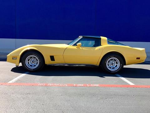 1980 Chevrolet Corvette for sale in Round Rock, TX