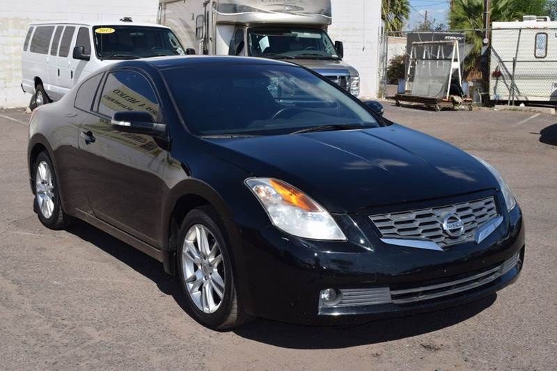 2008 NISSAN ALTIMA 35 SE 2DR COUPE CVT black this 2008 nissan altima will make a great daily com