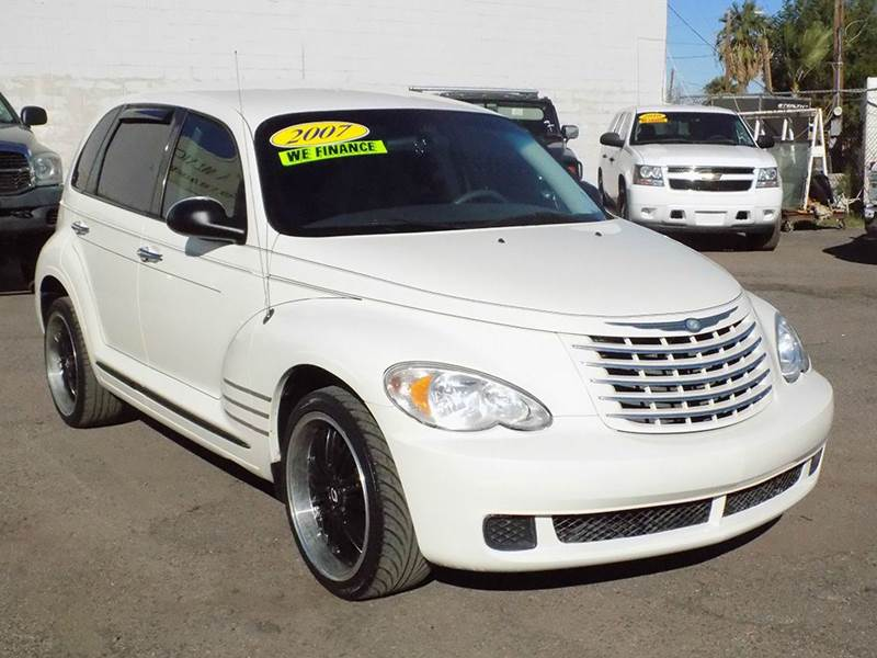 2007 CHRYSLER PT CRUISER TOURING 4DR WAGON off white stop by discount auto sales and take a look