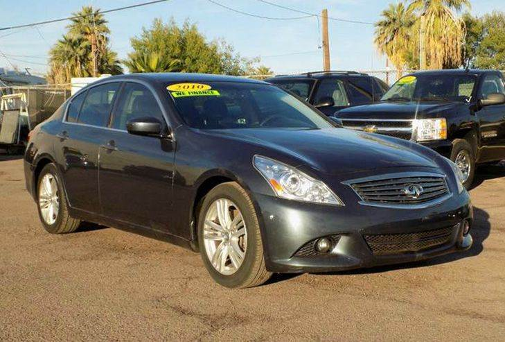 2010 INFINITI G37 SEDAN JOURNEY 4DR SEDAN grey looking for a sporty 4 door sedan here is a beaut