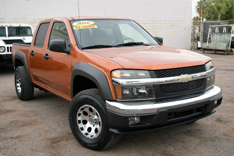 2006 CHEVROLET COLORADO LT 4DR CREW CAB SB orange looking for a pickup truck if so this 2006 che
