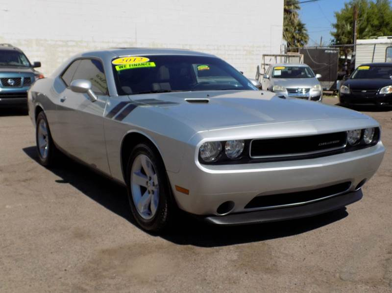 2012 DODGE CHALLENGER SXT PLUS 2DR COUPE silver this is one hot rod for the books with its sleek