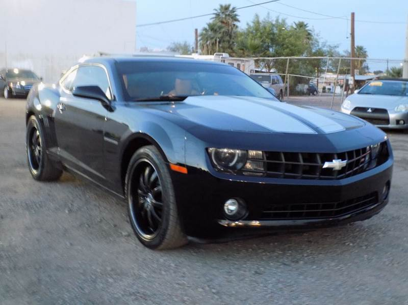 2010 CHEVROLET CAMARO LT 2DR COUPE W2LT black stop by discount auto sales and check out this bea