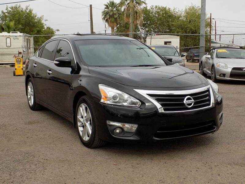 2013 NISSAN ALTIMA 25 SL 4DR SEDAN black stop by discount auto sales and look at this fully load