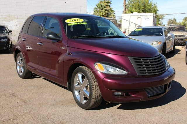 2003 CHRYSLER PT CRUISER GT 4DR TURBO WAGON purple stop by discount auto sales and check out this
