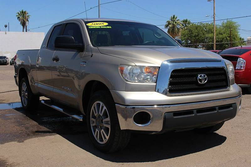 2008 TOYOTA TUNDRA SR5 4X2 4DR DOUBLE CAB SB 57L gold are you in need of a full size truck the