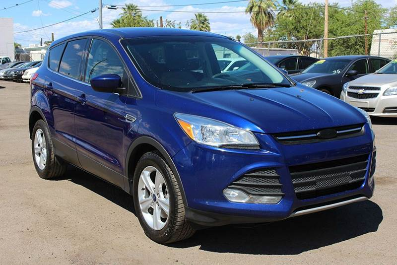 2014 FORD ESCAPE SE 4DR SUV blue 2-stage unlocking doors abs - 4-wheel air filtration airbag d