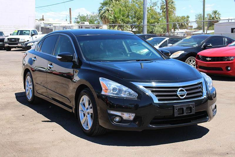 2014 NISSAN ALTIMA 25 SL 4DR SEDAN black stop by discount auto sales and look at this fully load