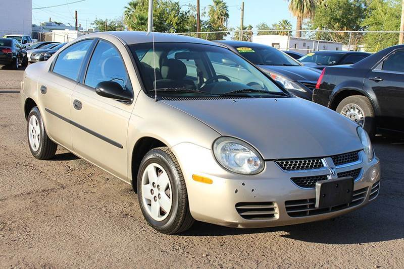 2003 DODGE NEON SE 4DR SEDAN gold in need of a reliable and affordable vehicle well here it is-