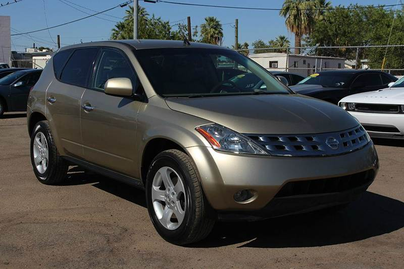 2005 NISSAN MURANO SE 4DR SUV gold stop by discount auto sales ad check out this 2005 nissan mura