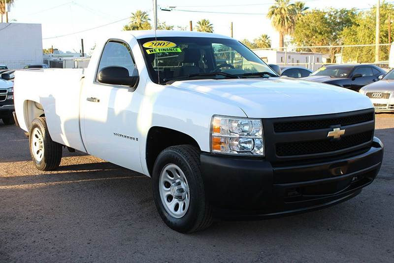2007 CHEVROLET SILVERADO 1500 WORK TRUCK 2DR REGULAR CAB 8 FT white if you are in need of a work