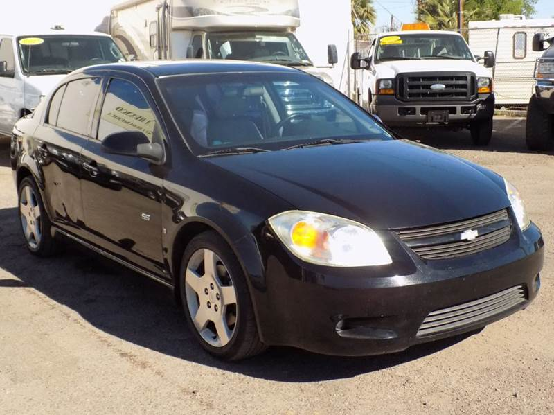 2006 CHEVROLET COBALT SS 4DR SEDAN W FRONT AND REAR H black here is the stylish and sporty 2006