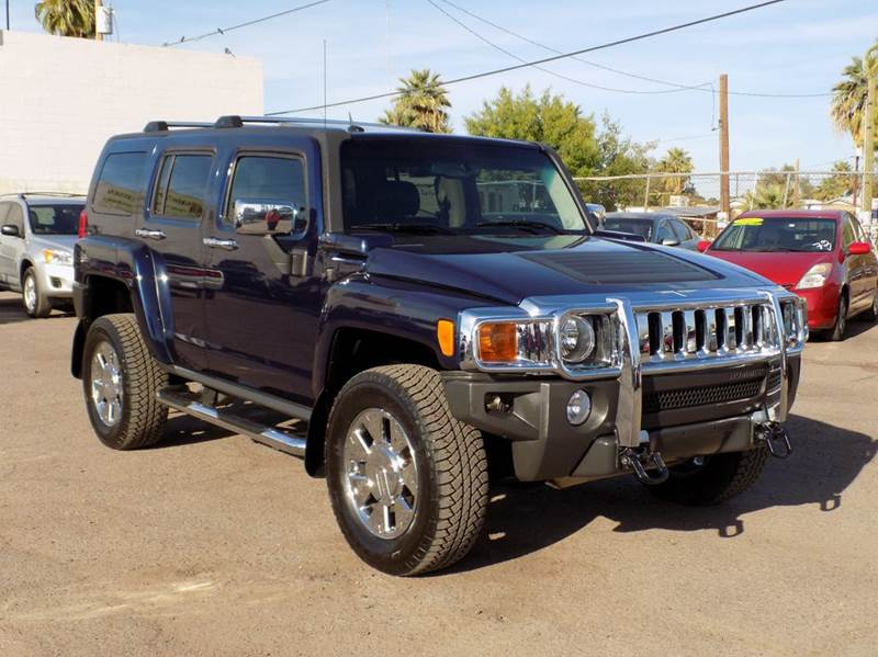 2007 HUMMER H3 H3X 4DR SUV 4WD blue looking for a 4wd suv then this 2007 hummer h3 is for your