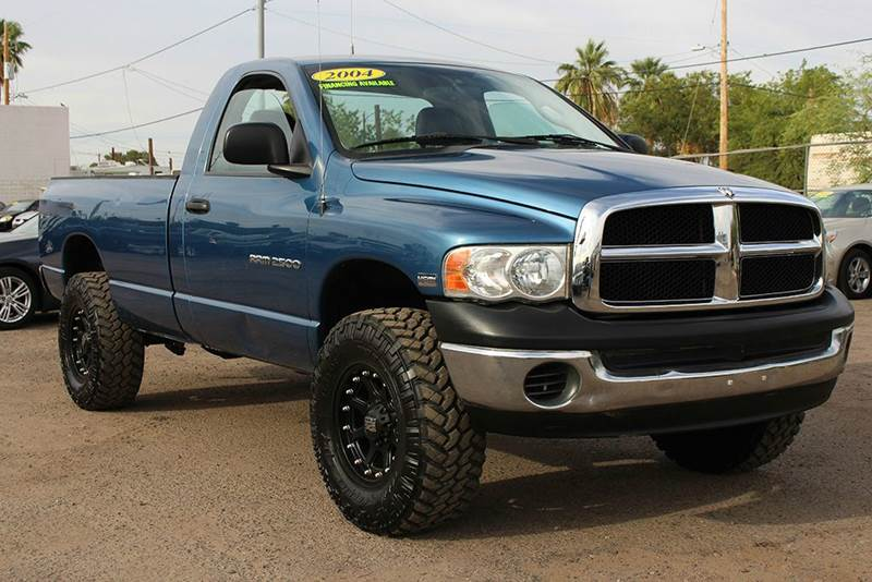 2004 DODGE RAM PICKUP 2500 ST 2DR REGULAR CAB 4WD LB blue this 2004 dodge ram 2500 makes the ulti