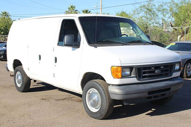 2006 FORD E-SERIES CARGO E-250 3DR VAN white abs - 4-wheel auxiliary transmission fluid cooler