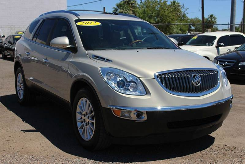2012 BUICK ENCLAVE LEATHER 4DR CROSSOVER gold it doesnt get much better than this 2012 buick enc