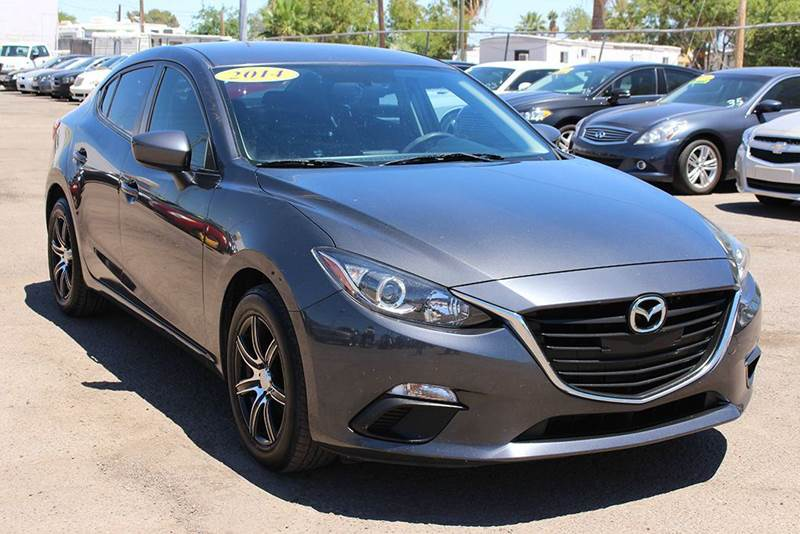 2014 MAZDA MAZDA3 I SPORT 4DR SEDAN 6A gray 2-stage unlocking doors abs - 4-wheel air filtratio
