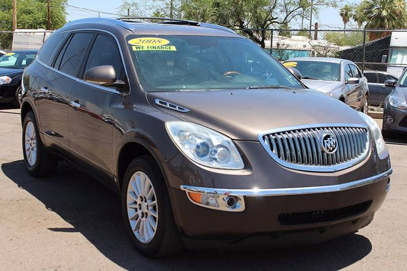 2008 BUICK ENCLAVE CXL brown stop by discount auto sales and check out this 2008 buick enclave cx