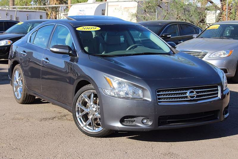 2009 NISSAN MAXIMA 35 SV 4DR SEDAN gray come down to discount auto sales and check out this spor