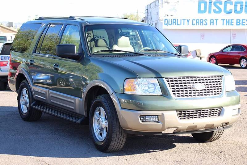 2003 FORD EXPEDITION EDDIE BAUER 4DR SUV green financing available all prices are subject to tax
