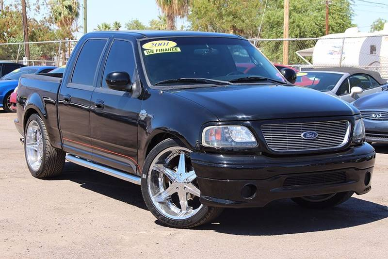 2001 FORD F-150 HARLEY DAVIDSON 4DR SUPERCREW 2W black this amazing 2001 ford f-150 harley davids