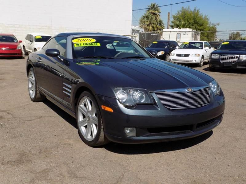 2008 CHRYSLER CROSSFIRE LIMITED 2DR HATCHBACK gray this 2008 crossfire is one of a kind a collect