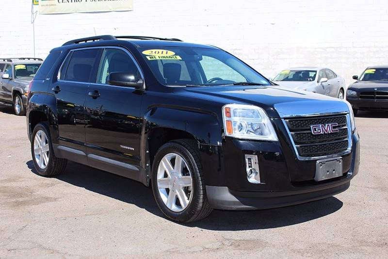 2011 GMC TERRAIN SLT-1 4DR SUV black stop by discount auto sales and check out this beautiful 201