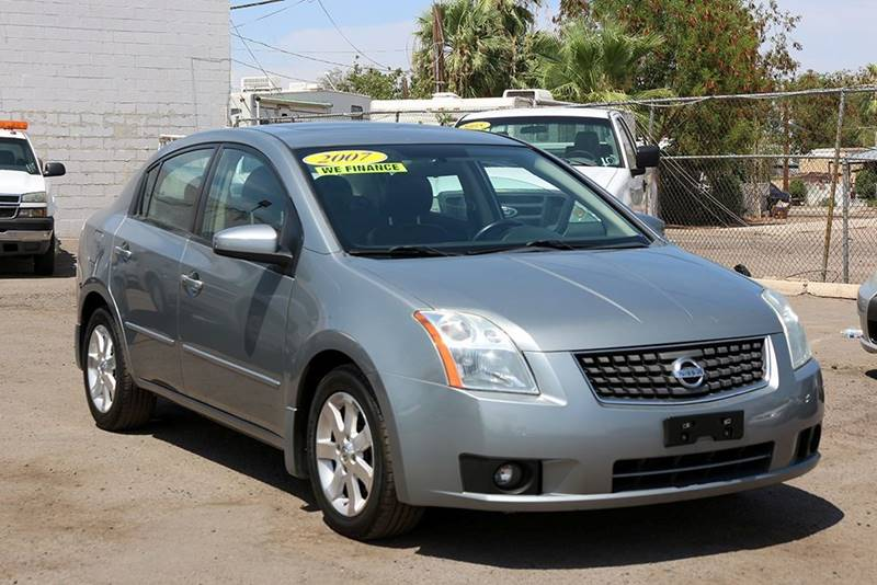 2007 NISSAN SENTRA 20 SL 4DR SEDAN gray financing available all prices are subject to tax titl