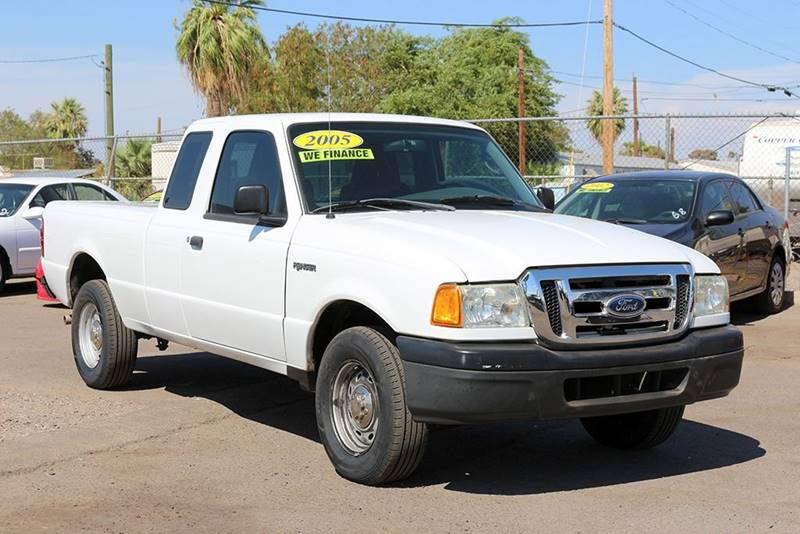 2005 FORD RANGER EDGE 2DR SUPERCAB RWD SB white financing available all prices are subject to ta