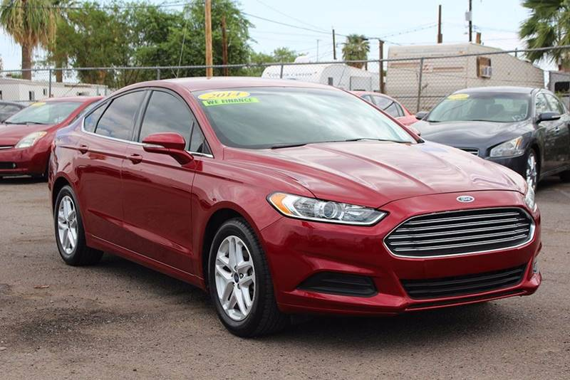 2014 FORD FUSION SE 4DR SEDAN red financing available all prices are subject to tax title reg
